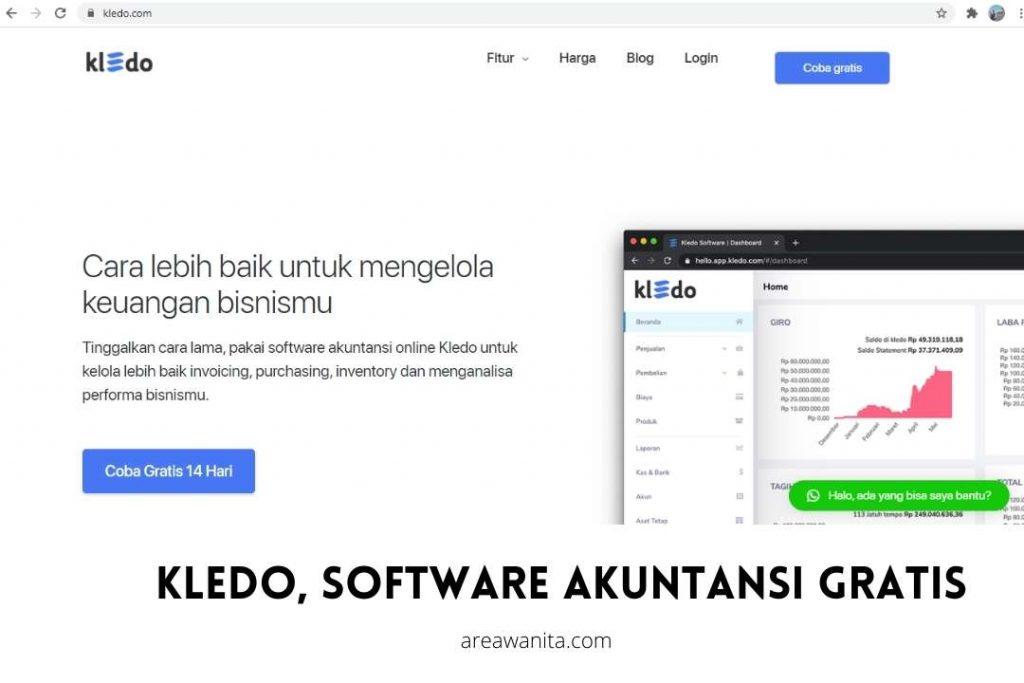 Kledo software akuntansi gratis