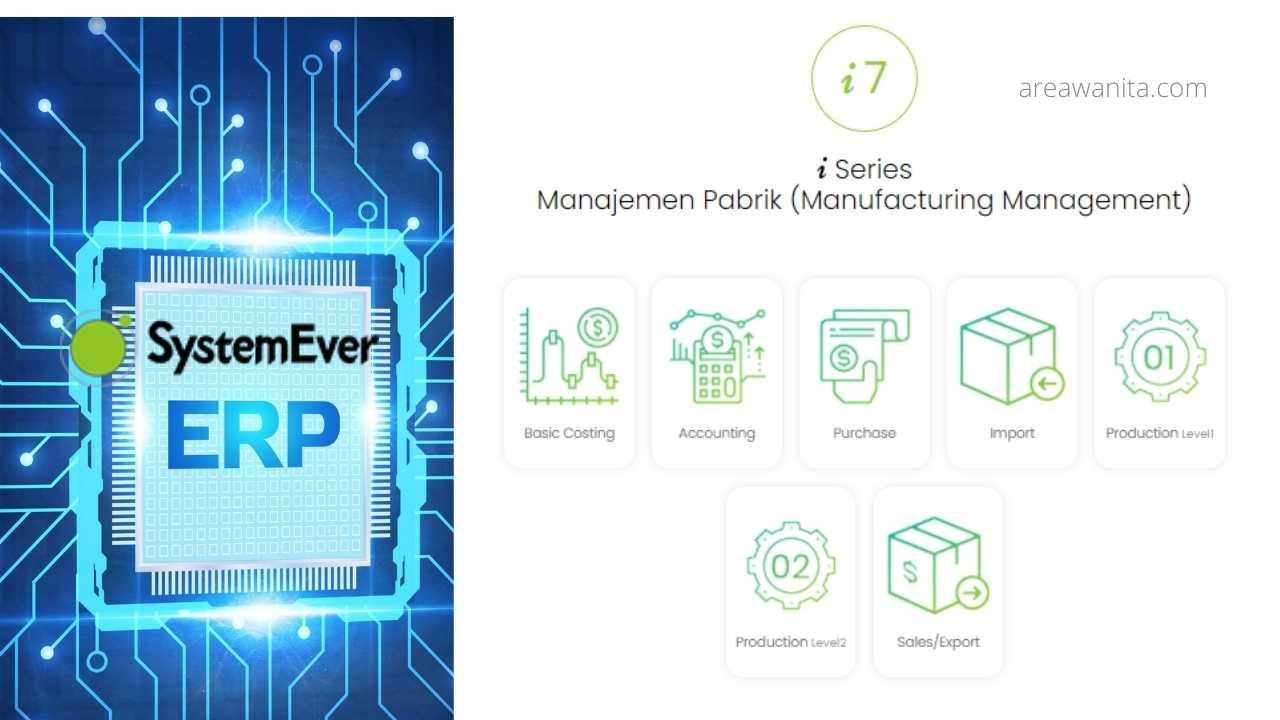 software erp terbaik industri manufaktur pergudangan versi i7 dari SystemEver
