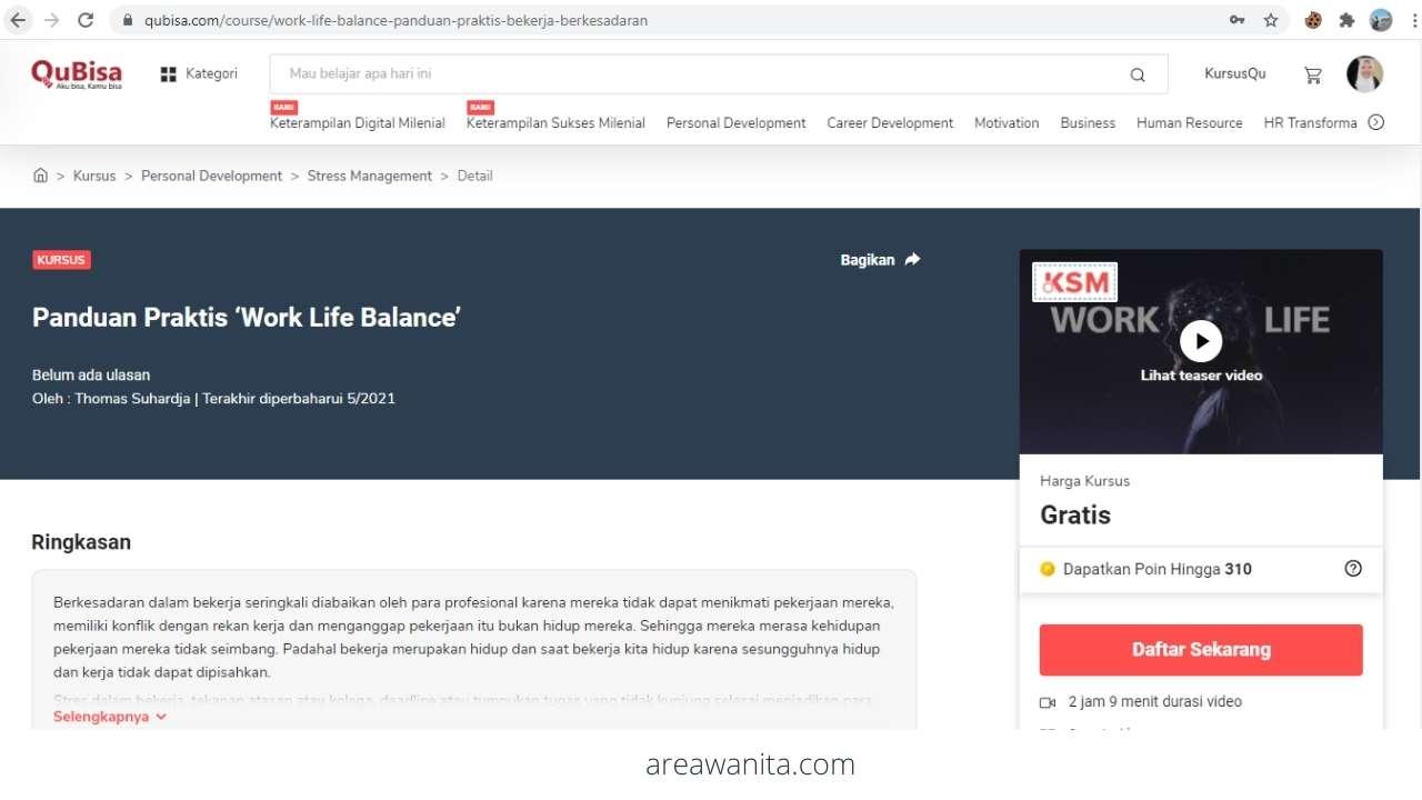 Kursus Online Gratis Bersertifikat di QuBisa